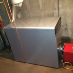 New 350,000 BTU boiler for Calvary Bible Church Derry